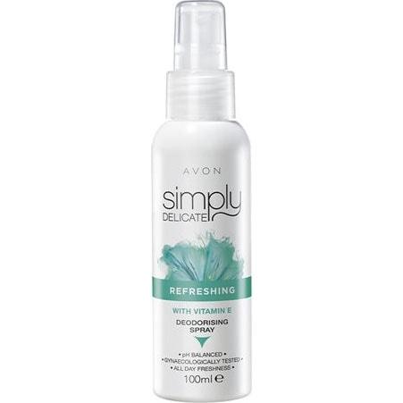 AVON Simply Delicate Intimspray mit Vitamin E