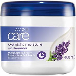 AVON care Feuchtigkeitscreme für Gesicht, Hände & Körper mit Lavendel