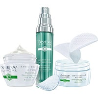 AVON ANEW Clinical Even Texture & Tone Hautpflege-Set 3-teilig