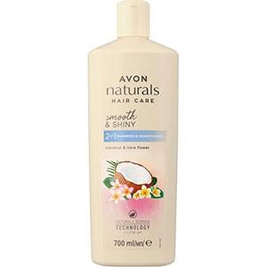 AVON naturals 2-in-1 Shampoo & Spülung mit Kokosnuss & Tiare-Blüte 700 ml