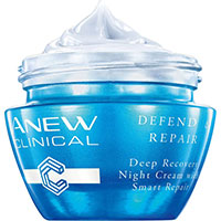 AVON ANEW Clinical Defend & Repair Intensiv regenerierende Nachtcreme