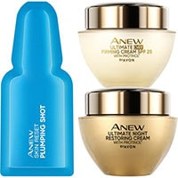 AVON ANEW Ultimate Systempflege + Ampullenkur Set 3-teilig