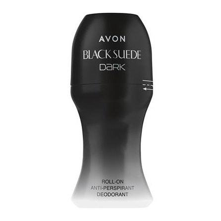 AVON Black Suede Dark Deoroller