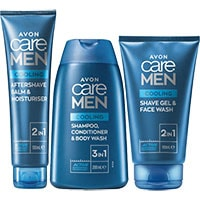 AVON care MEN Cooling Effect Pflege-Set 3-teilig