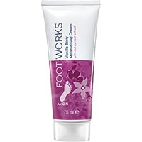 AVON FOOT WORKS Vanilla Berry Fußcreme