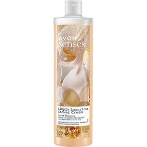 AVON senses Precious Oils Pfirsich & Vanille-Orchidee Duschcreme 500 ml