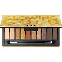 AVON Glowing Gold 10-in-1 Lidschatten-Palette