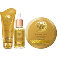 AVON planet spa Radiance Ritual Pflege-Set 3-teilig