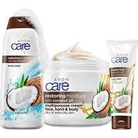 AVON care Körperpflege-Set mit Kokosöl 4-teilig