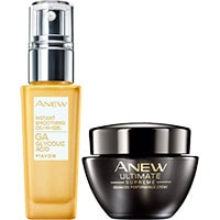 AVON ANEW Ultimate Gelprimer + Supreme Anti-Aging-Feuchtigkeitspflege Set
