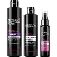 AVON Advance Techniques Farbkorrigierendes Haarpflege-Set 3-teilig