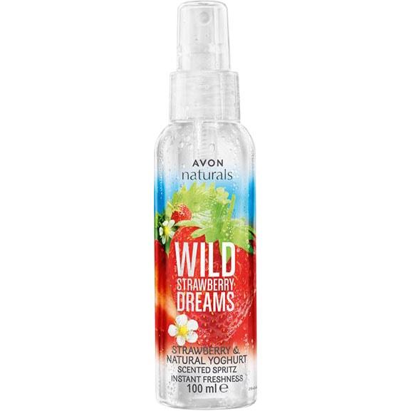 AVON naturals Wild Strawberry Dreams Körperspray