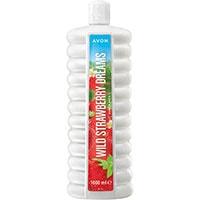 AVON BUBBLE BATH Wild Strawberry Dreams Schaumbad 1 l