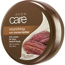 AVON care Kakaobutter Pflegecreme für Gesicht, Körper & Hände 75 ml
