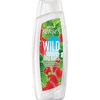 AVON senses Wild Strawberry Dreams Duschcreme 500 ml