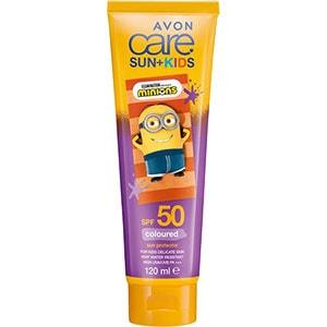 AVON Sun+ Lilafarbene Sonnenschutzcreme LSF 50 für Kinder
