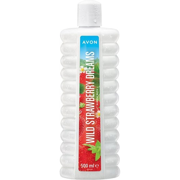 AVON BUBBLE BATH Wild Strawberry Dreams Schaumbad 500 ml