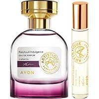 AVON Artistique Patschuli Indulgence Eau de Parfum + Taschenspray Set
