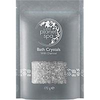 AVON planet spa Bath Crystals Badesalz mit Aktivkohle