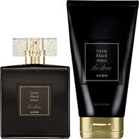 AVON Little Black Dress The Dress Eau de Parfum + Körperlotion Set