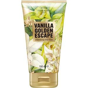 AVON naturals Vanilla Golden Escape Körperlotion mit Schimmereffekt