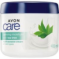 AVON care Teebaum-Extrakt Feuchtigkeitscreme für Gesicht, Hände & Körper
