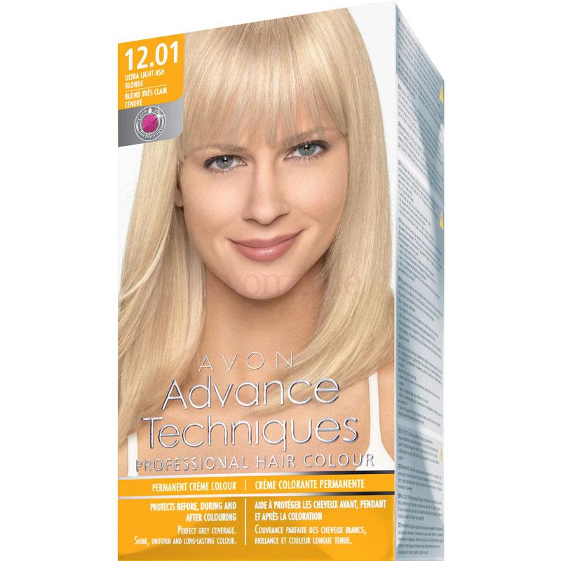 AVON Advance Techniques PROFESSIONAL HAIR COLOUR Haar-Coloration - Blond