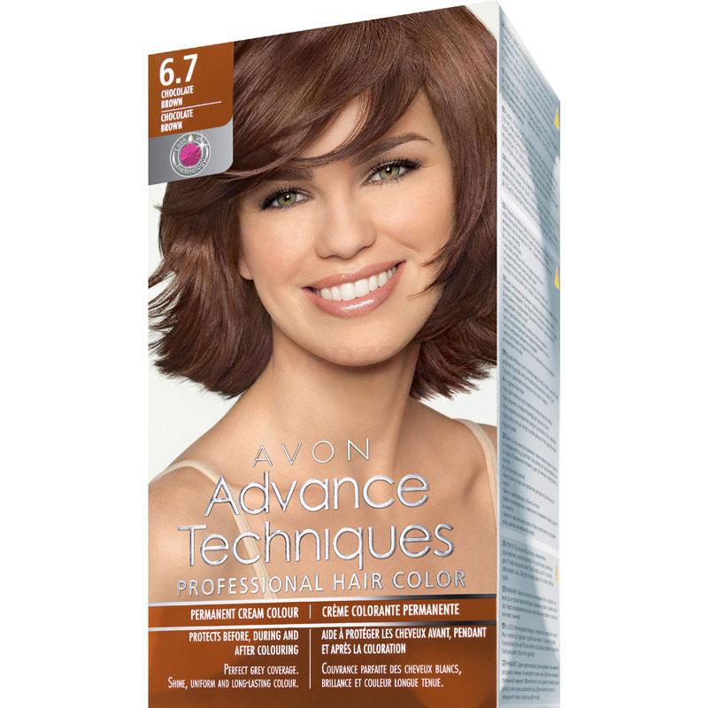 AVON Advance Techniques PROFESSIONAL HAIR COLOUR Haar-Coloration - Brünett