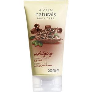 AVON naturals body Schokolade Feuchtigkeitsspendendes Körperpeeling