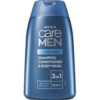 AVON care MEN Cooling Effect 3-in-1 Shampoo, Spülung & Duschgel