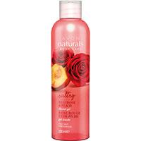 AVON naturals body Rote Rose & Pfirsich Duschgel