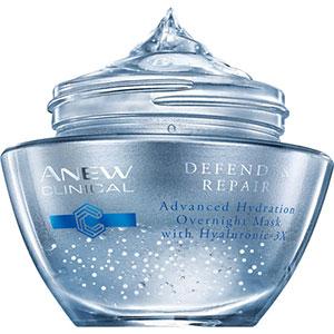 AVON ANEW Clinical Defend & Repair Feuchtigkeitsmaske für die Nacht