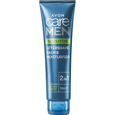 AVON care MEN Sensitive 2-in-1 Aftershave-Balsam & Feuchtigkeitspflege