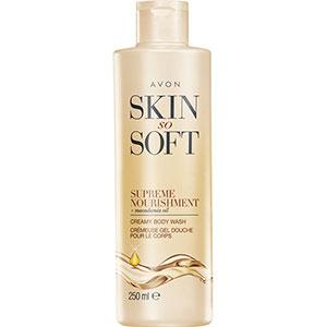 AVON skin so soft supreme nourishment Creme-Duschgel