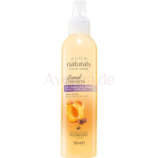 AVON naturals hair Aprikose & Sheabutter Entwirrspray
