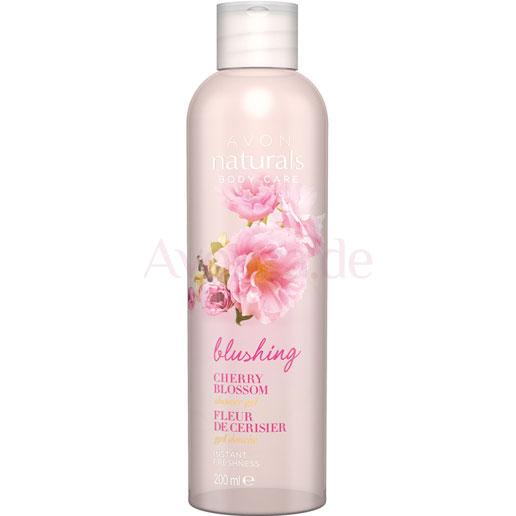 AVON naturals body Kirschblüte Duschgel
