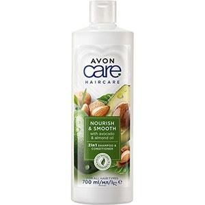 AVON naturals hair Mandelöl & Avocado Feuchtigkeitsspendendes Shampoo 700 ml