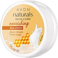 AVON naturals Milch & Honig Pflegende Gesichtscreme