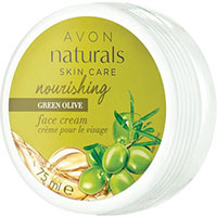 AVON naturals Grüne Olive Pflegende Gesichtscreme