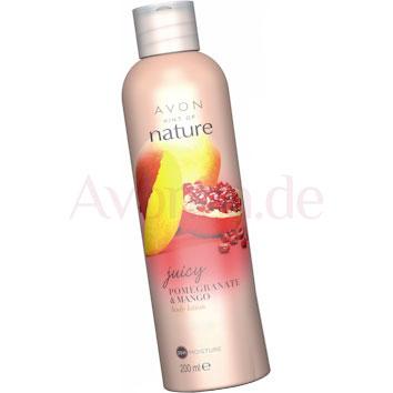 AVON naturals Saftiger Granatapfel & Mango Körperlotion