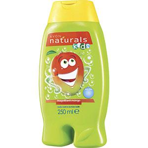 AVON naturals kids Mango Schaumbad & Duschgel