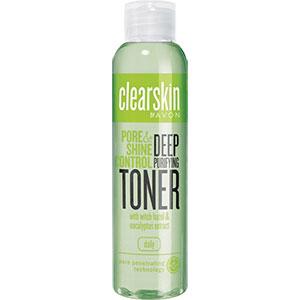 AVON clearskin pore & shine control Klärendes Gesichtswasser