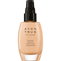 AVON True Colour Calming Effects Mattierende Foundation