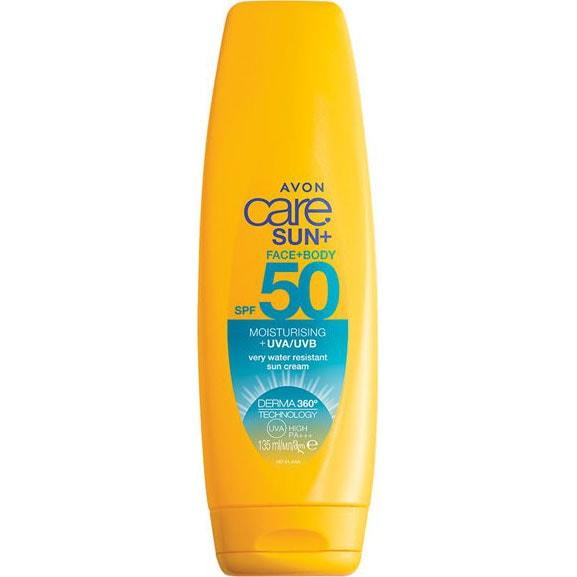 AVON care SUN+ Feuchtigkeitsspendende Sonnenschutz Lotion LSF 50