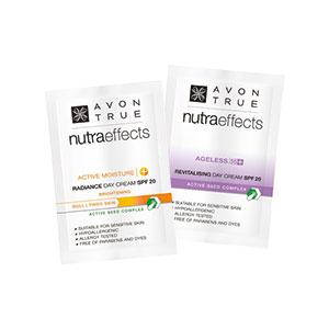Probe Hautpflege AVON nutra effects