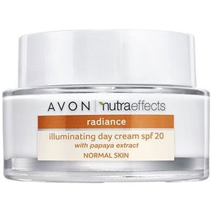 AVON nutra effects Radiance Tagescreme LSF 20