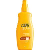 AVON care SUN+ Transparentes Sonnenschutz Spray LSF 15