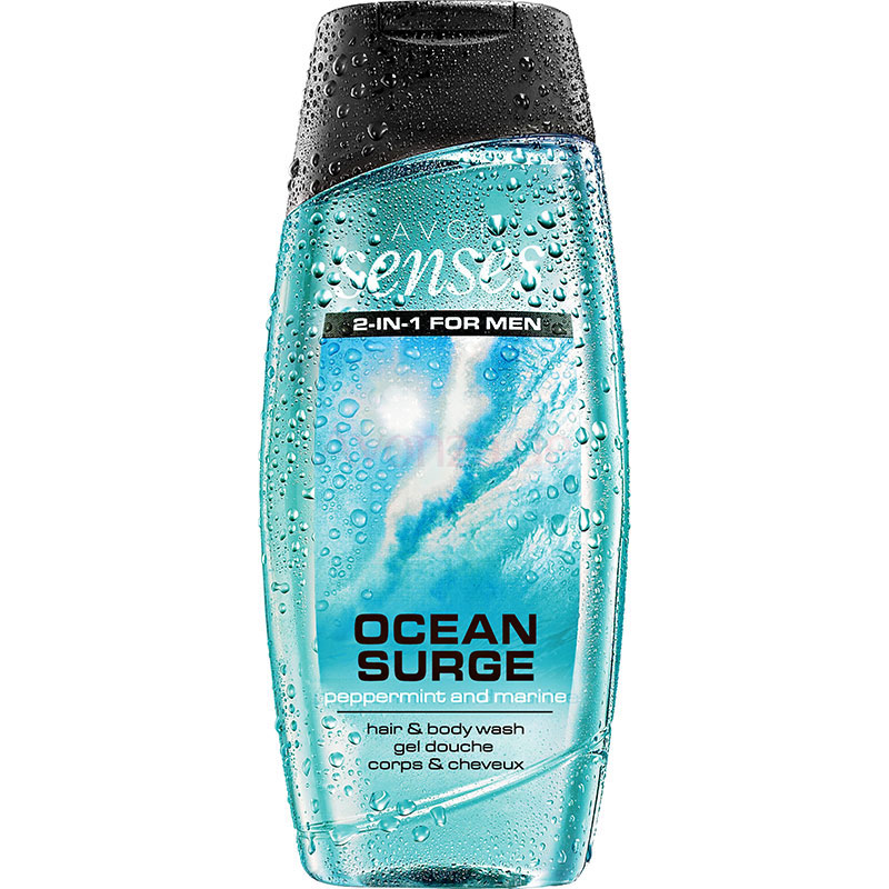 AVON senses Ocean Surge 2-in-1 Shampoo 250 ml