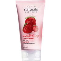 AVON naturals body Erdbeere Körperpeeling