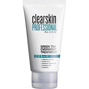 AVON clearskin professional 5-in-1 Nachtpflege mit Grünem Tee